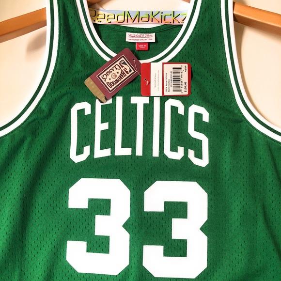 c4d6b2724 Mitchell & Ness Shirts | Mitchell Ness Larry Bird Celtics 8586 Hwc ...